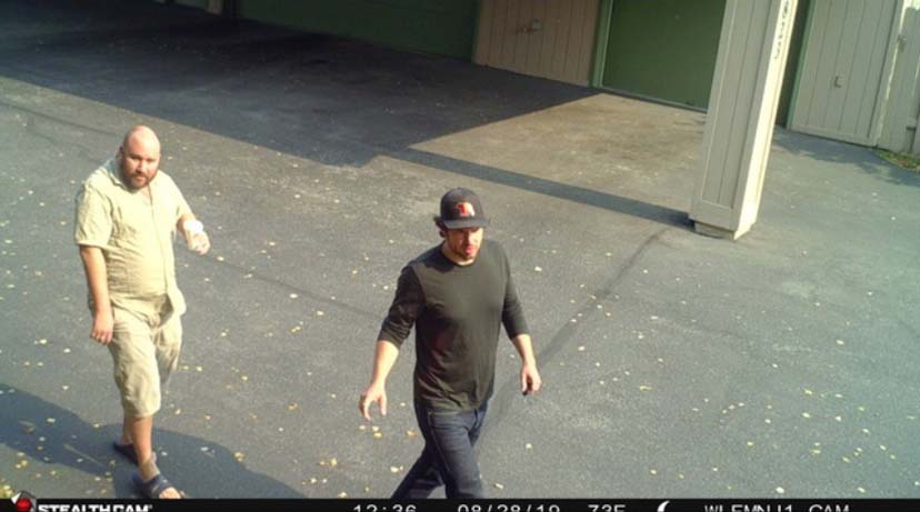 Surveillance photo from Campbell Creek resident